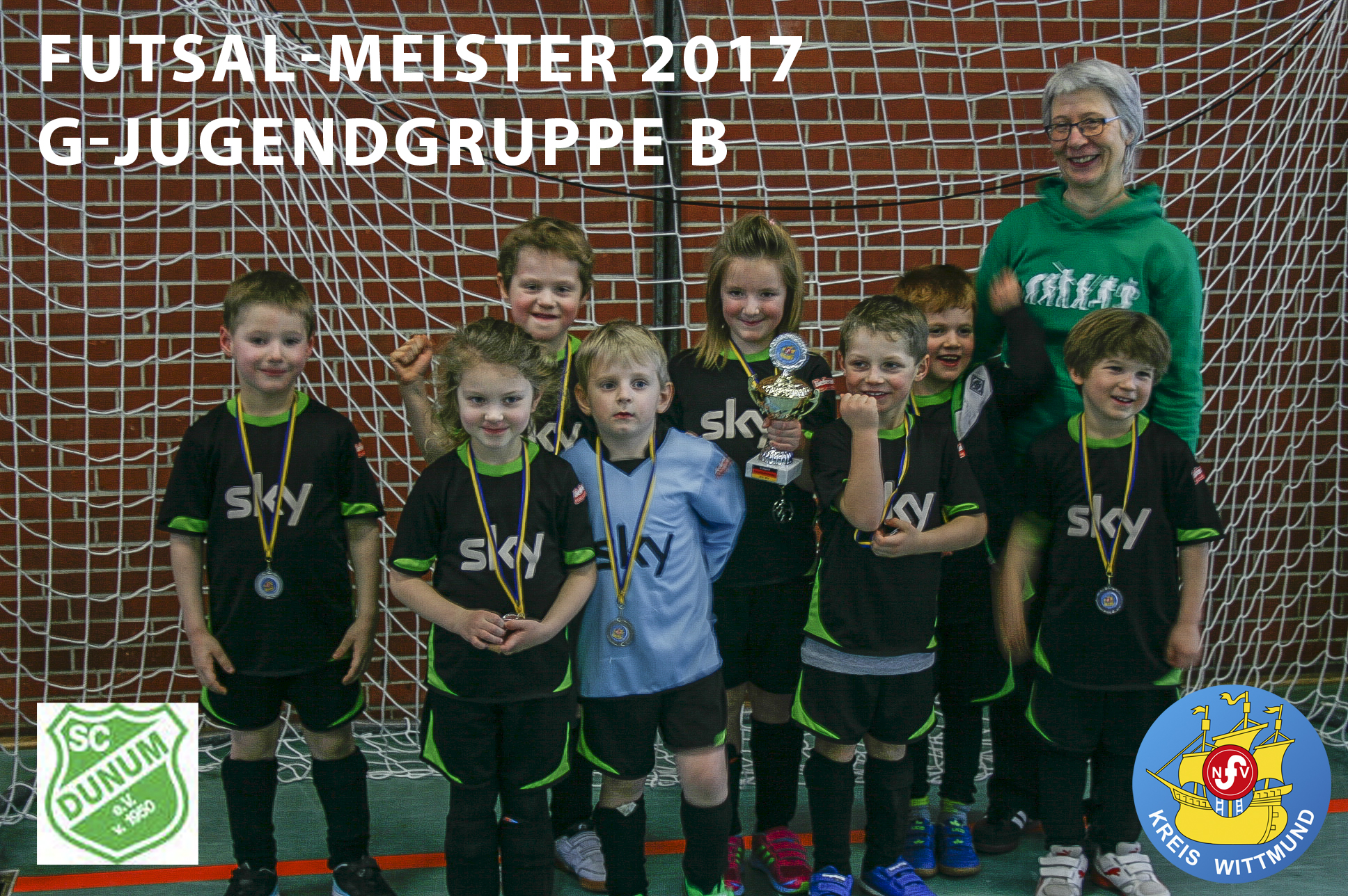 Futsal-Meister Gruppe B 2017